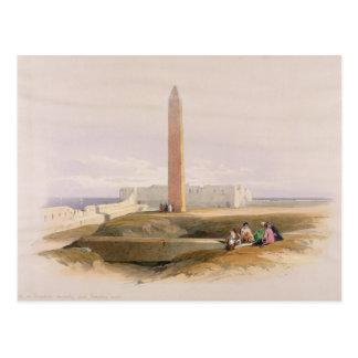 Cartão Postal Alexandria, chamada geralmente Cleopatra