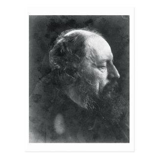 Cartão Postal Alfred, senhor Tennyson (1809-92) c.1868