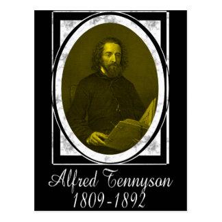 Cartão Postal Alfred Tennyson