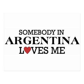 Cartão Postal Alguém em Argentina