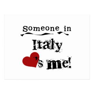 Cartão Postal Alguém em Italia ama-me
