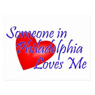 Cartão Postal Alguém em Philadelphfia ama-me
