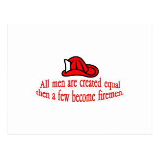Cartão Postal Algum bombeiro