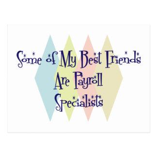 Cartão Postal Alguns de meus melhores amigos são especialistas