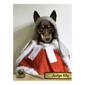 Cartão Postal Aliado do juiz