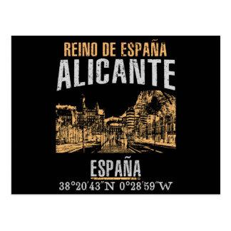 Cartão Postal Alicante