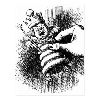 Cartão Postal Alice guardara o rei branco