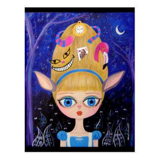 Cartão Postal Alice no país das maravilhas