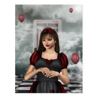 Cartão Postal Alice no sonho
