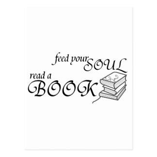 Cartão Postal Alimente sua alma