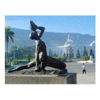 CARTÃO POSTAL ALIVIO DO TERREMOTO DE HAITI