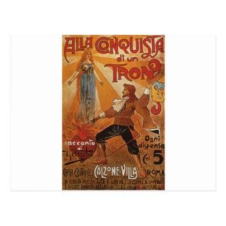Cartão Postal Alla Conquista di un Tron