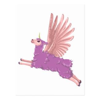 Cartão Postal Allamacorn