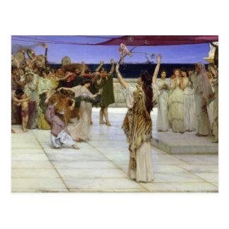 Cartão Postal Alma-Tadema | uma dedicação ao Baco