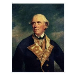 Cartão Postal Almirante Barrington 1779