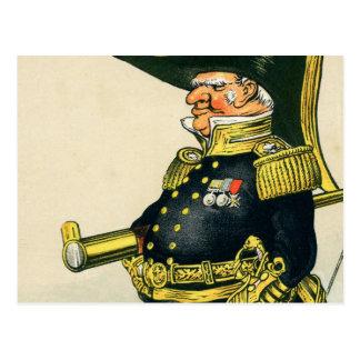 Cartão Postal Almirante do marinho real