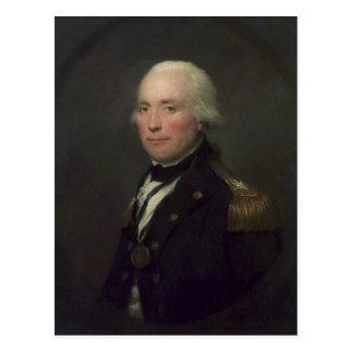 Cartão Postal Almirante senhor Robert Calder