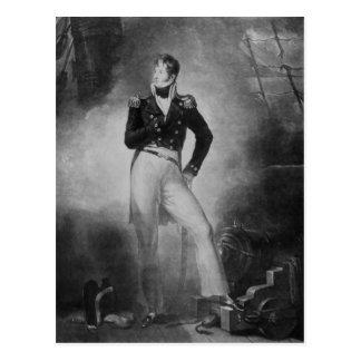 Cartão Postal Almirante Thomas Cochrane