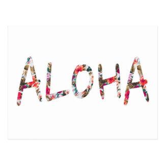 Cartão Postal Aloha