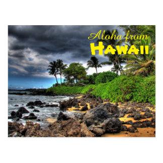 Cartão Postal Aloha de Havaí