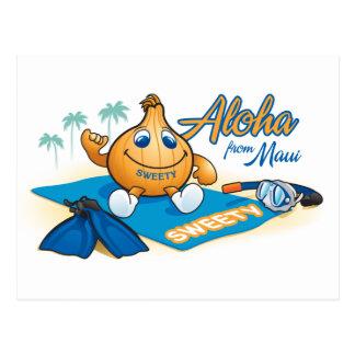 Cartão Postal aloha do sweety
