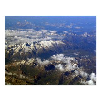 Cartão Postal Alpes