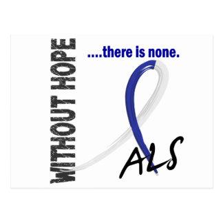 Cartão Postal ALS sem esperança 1