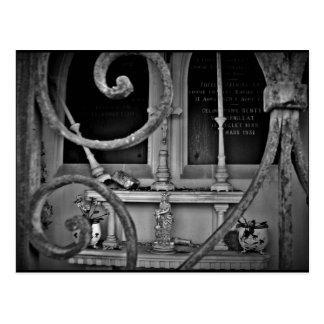 Cartão Postal Altar da cripta do cemitério
