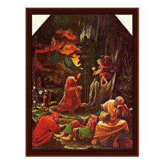 Cartão Postal Altar de Sebastian do monastério Augustinian