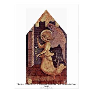 Cartão Postal Altarpiece de San Silvestro em Montappone