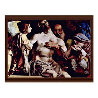 Cartão Postal Altarpolyptychon de Recanati que coroa a boa