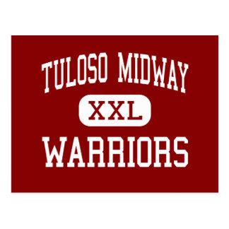 Cartão Postal Alto intermediário de Tuloso - guerreiros - -