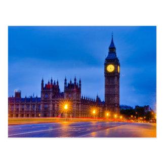 Cartão Postal Alvorecer Londres clara