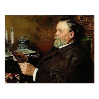 Cartão Postal Amante de Vladimir Makovsky- da pintura