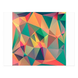 Cartão Postal Amantes geométricos