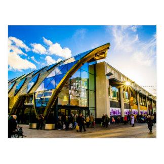 Cartão Postal Amarre o mercado de Sheffield