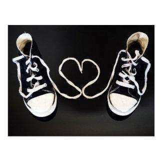 Cartão Postal Ame meus calçados