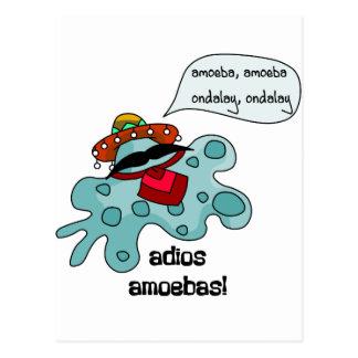 Cartão Postal Amebas do Adios