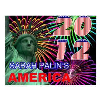 Cartão Postal América de Sarah Palin