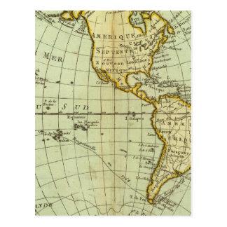 Cartão Postal America do Norte e Ámérica do Sul