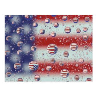 Cartão Postal America do Norte, EUA, WA, Redmond, bandeira dos