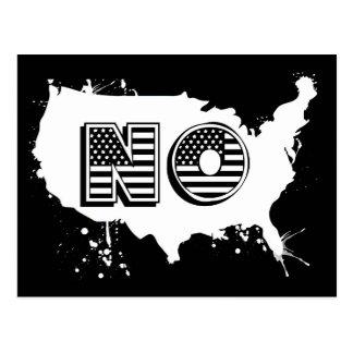 Cartão Postal America do Norte que nenhum anti trunfo do Grunge