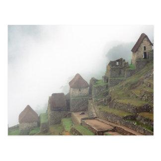 Cartão Postal Ámérica do Sul Peru Macchu Picchu