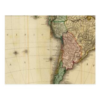 Cartão Postal América sul
