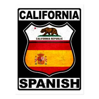 Cartão Postal Americano espanhol de Califórnia