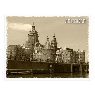 Cartão Postal Amesterdão, Netherland