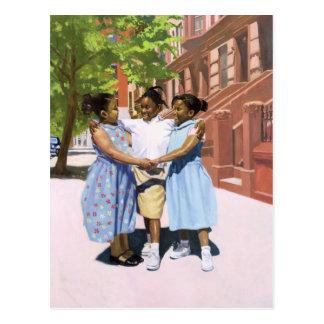 Cartão Postal Amigos 2001