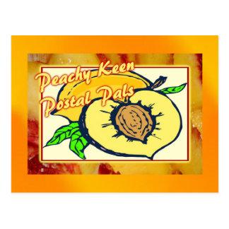Cartão Postal Amigos postais afiados Peachy