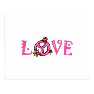 Cartão Postal Amor