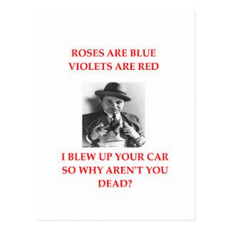 Cartão Postal amor 5 do gamgster